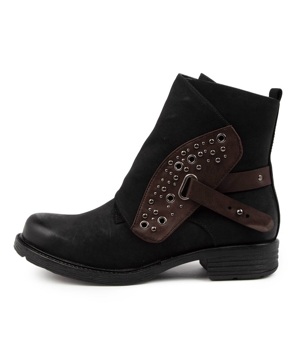 Buy I Love Billy Biccie Il Black Choc Ankle Boots online with free shipping