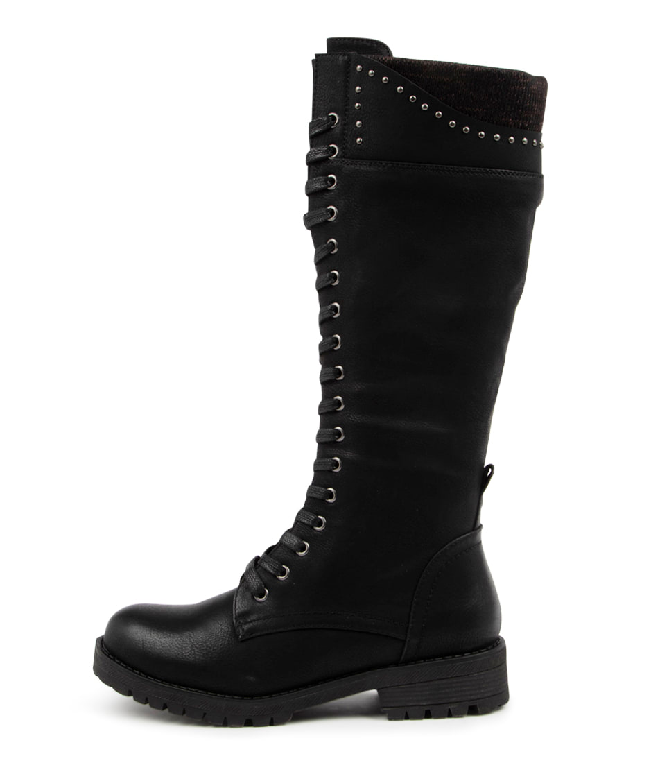Buy I Love Billy Electy Il Black Long Boots online with free shipping