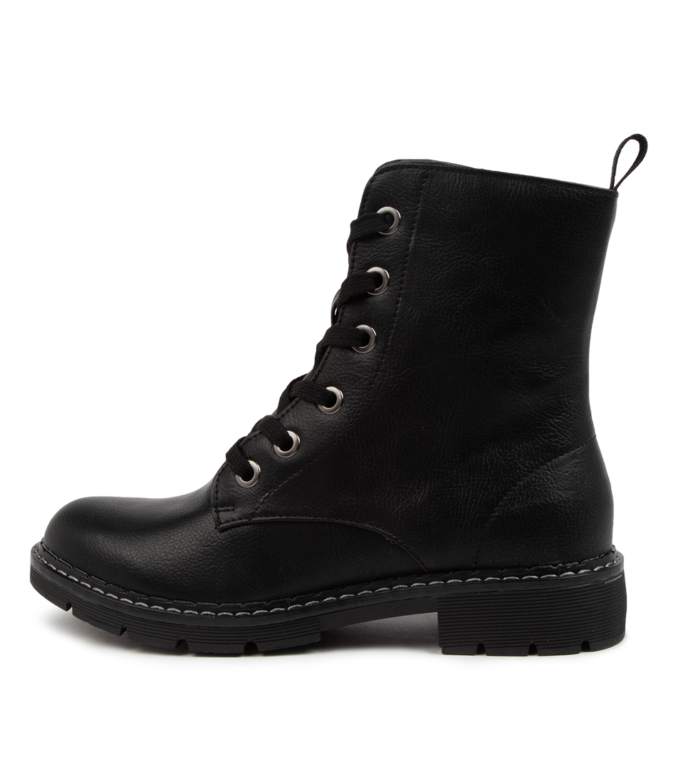 Buy I Love Billy Anabelo2 Il Black Ankle Boots online with free shipping