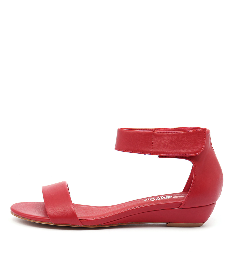 I Love Billy Marlena Red Sandals