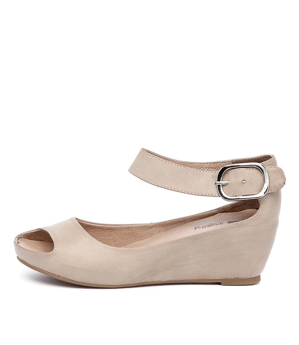 I Love Billy Tindol Light Taupe Sandals