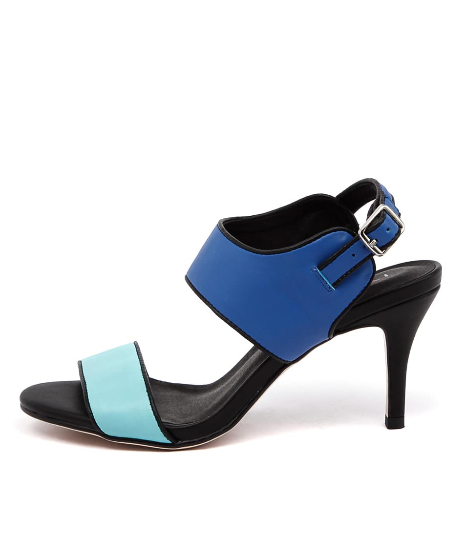 I Love Billy Canopy Il Seafoam Cobalt Sandals