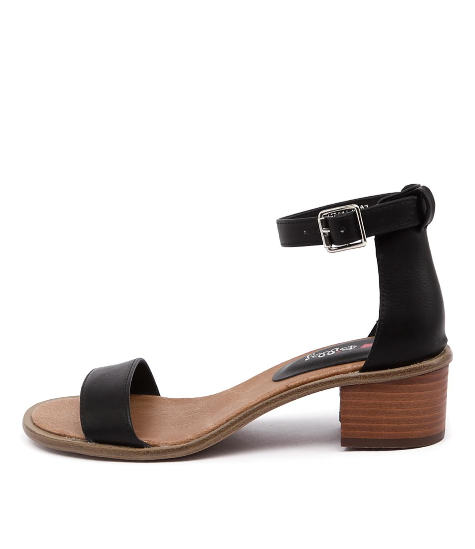 I Love Billy Hadley Il Black Sandals