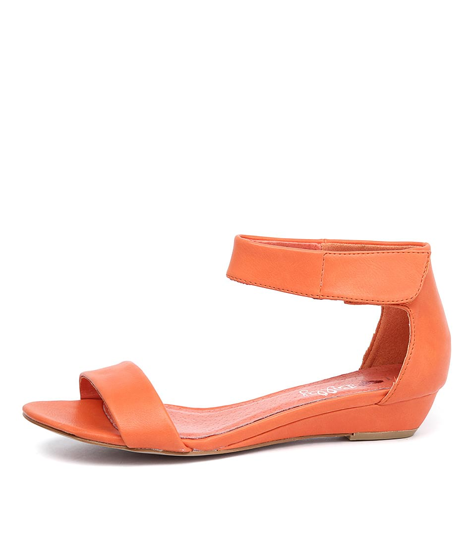 I Love Billy Marlena Orange Sandals