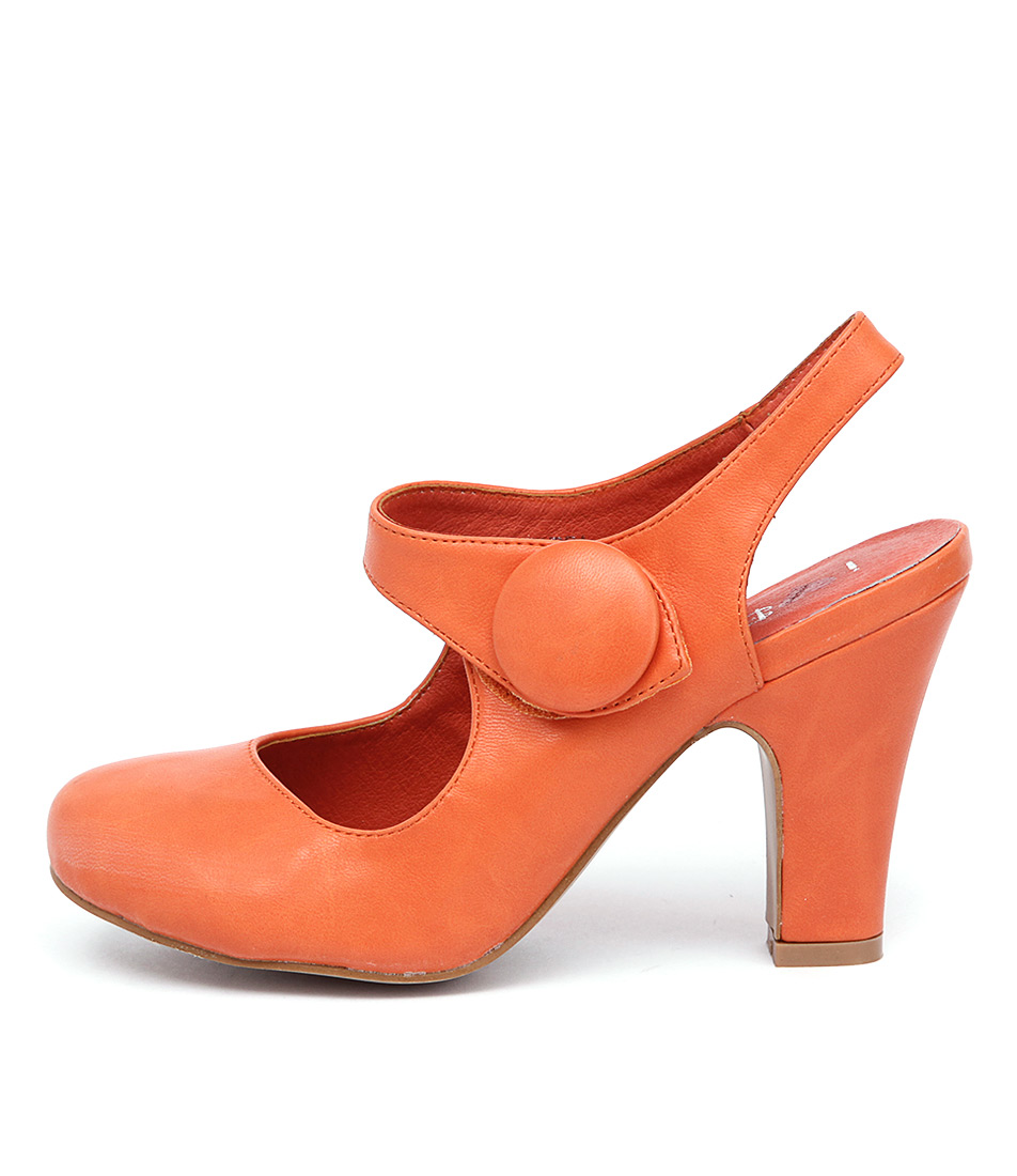 I Love Billy Tendra Orange Shoes