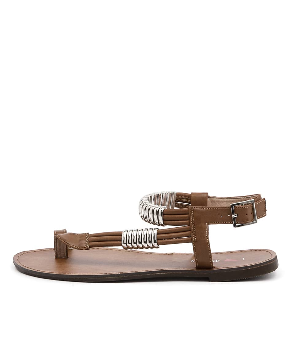 I Love Billy Archie Tan Sandals