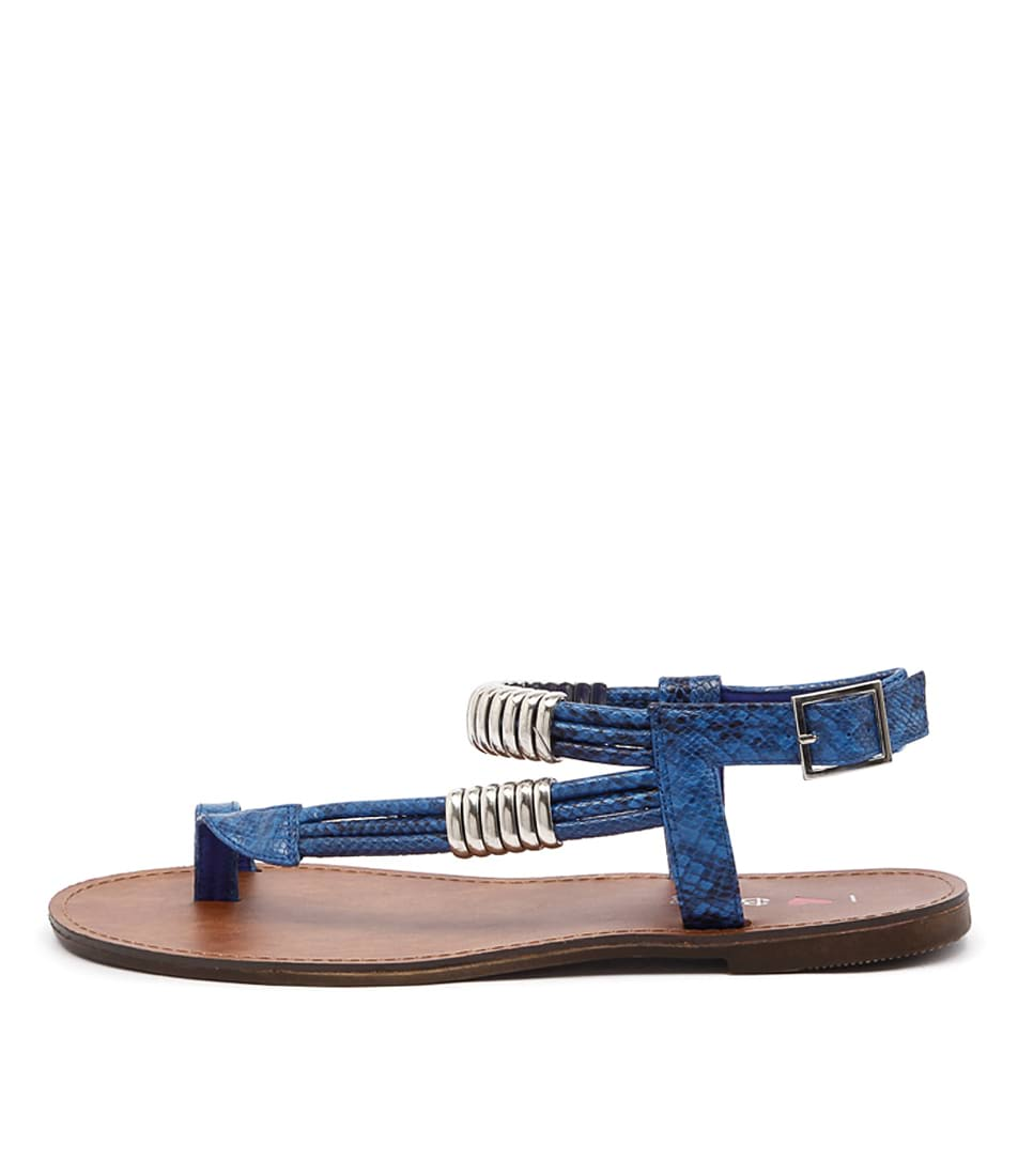 I Love Billy Archie Cobalt Sandals
