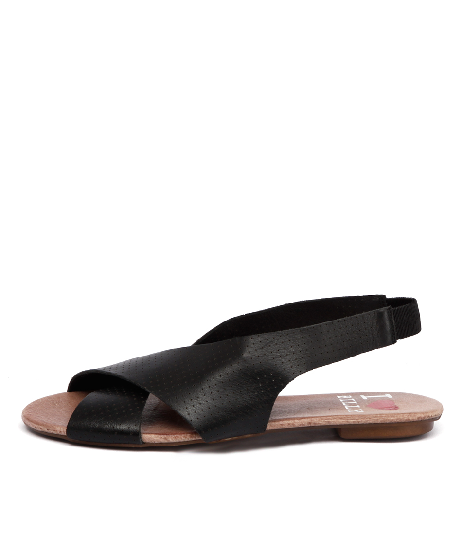 I Love Billy Iota Black Sandals