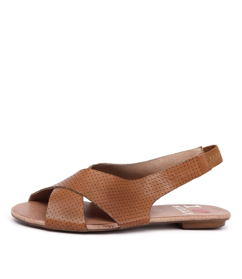 I Love Billy Iota Tan Sandals