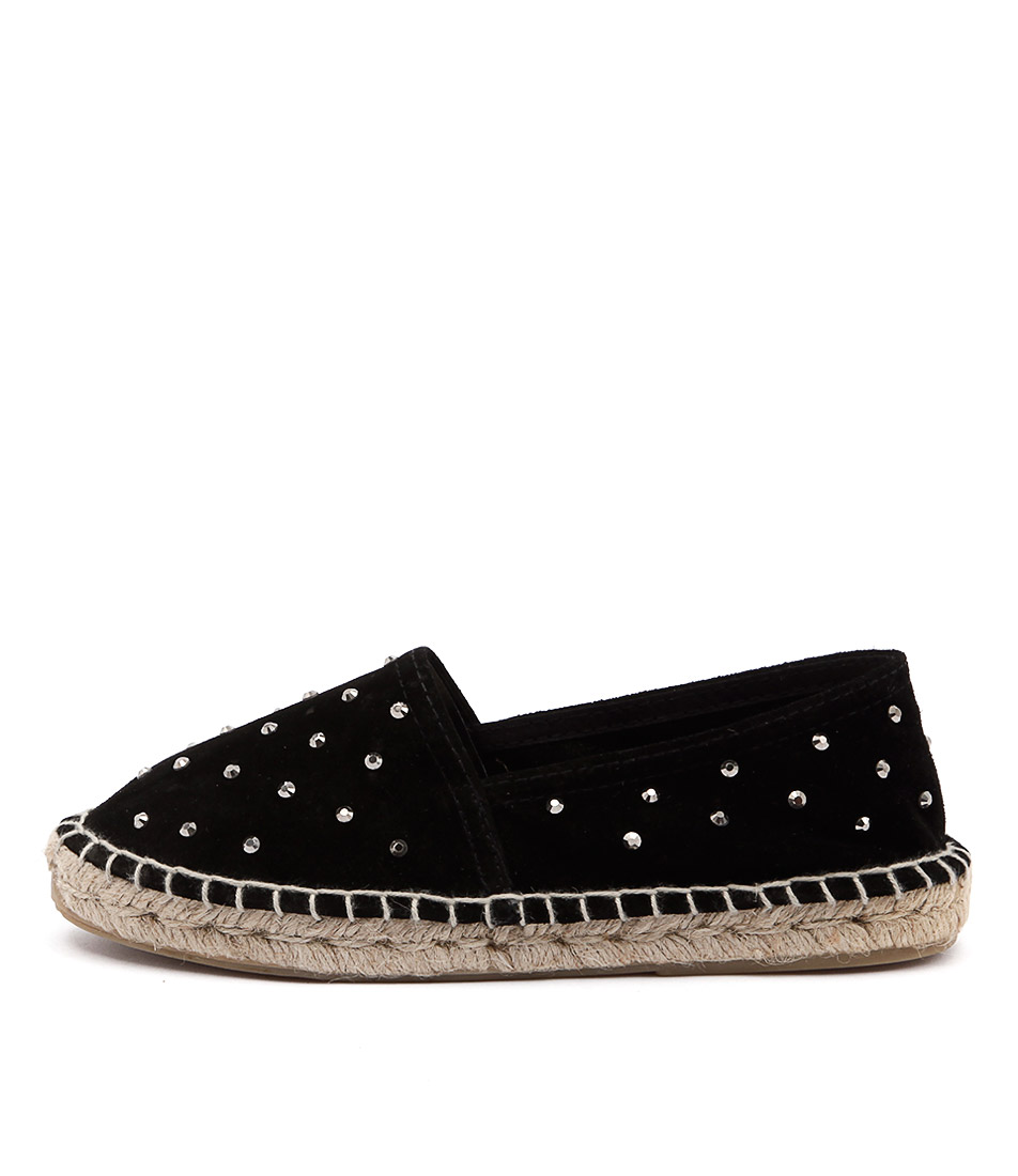 I Love Billy Queenstones Negro (Black) Flat Shoes