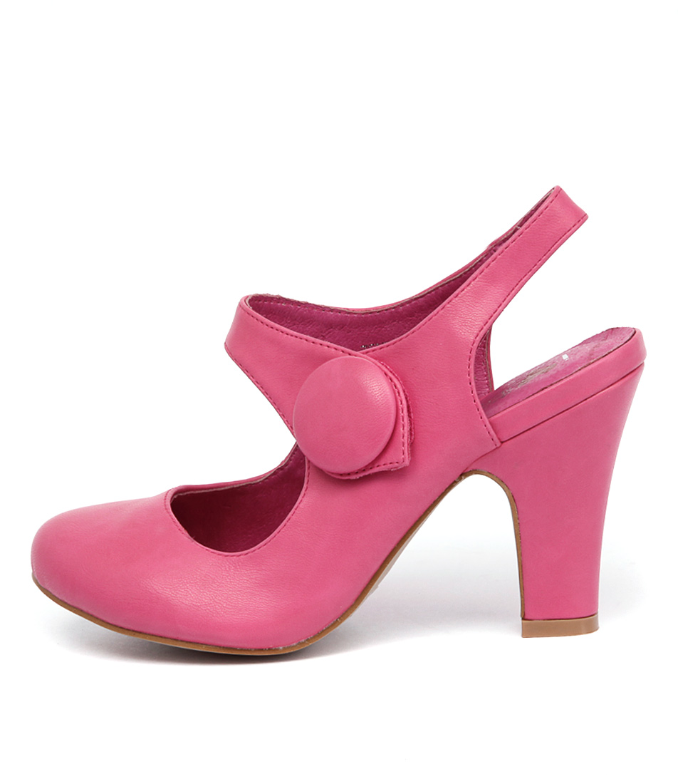I Love Billy Tendra Fuchsia High Heels
