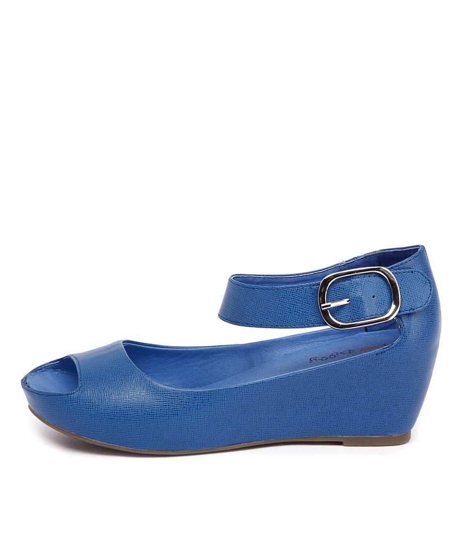 I Love Billy Tindol Cobalt Sandals