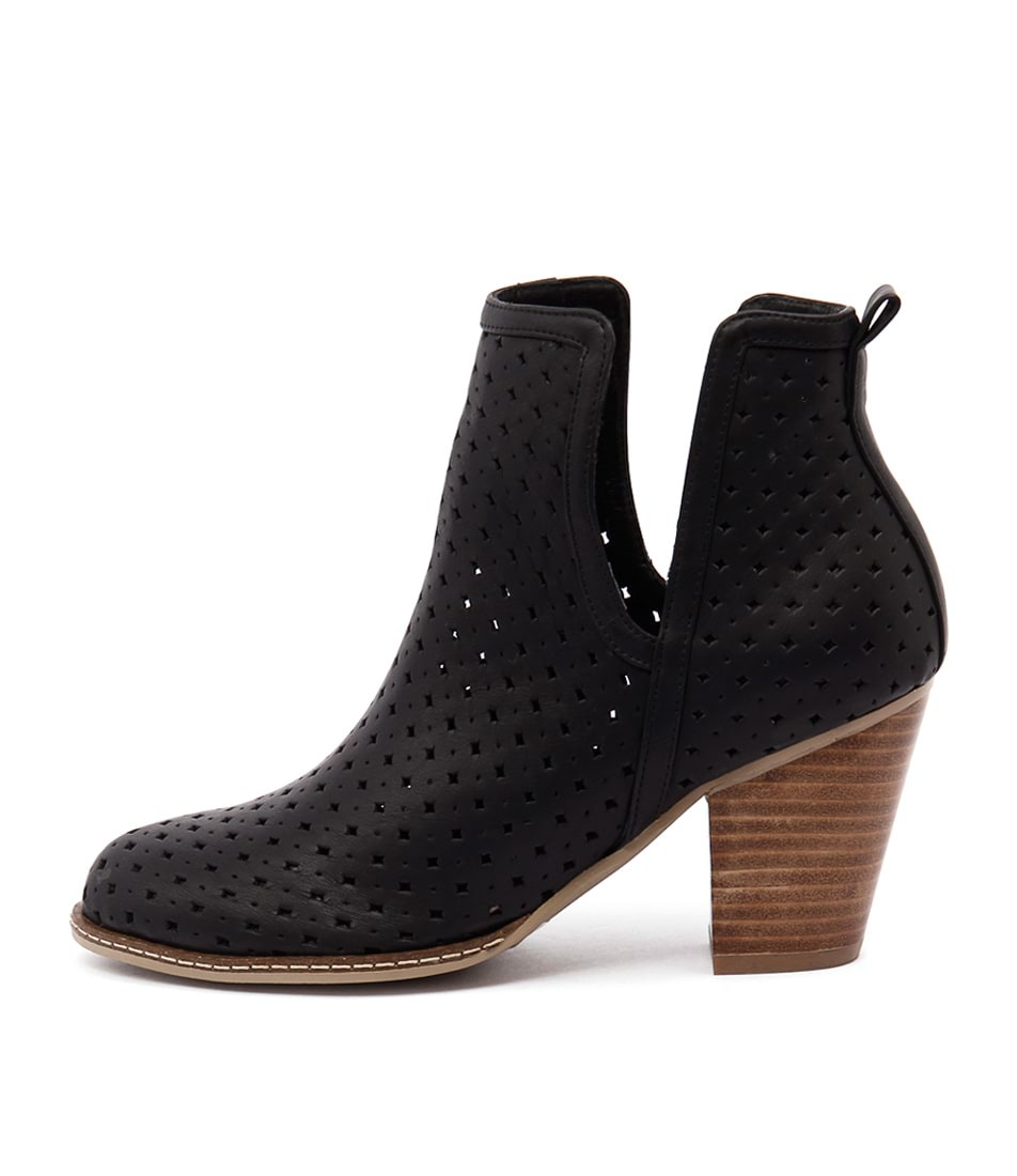 buy I Love Billy Caprice Black Ankle Boots shop I Love Billy Boots, Ankle Boots online