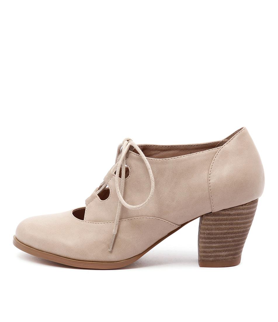 I Love Billy Delilah Latte High Heels Shoes