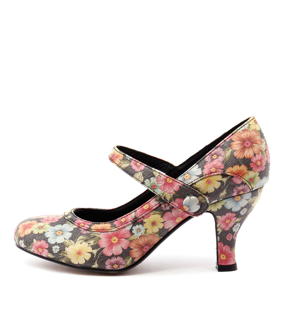 I Love Billy Marion Black Casual Heeled Shoes