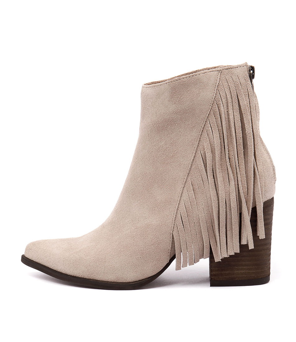 I Love Billy Kady Stone Ankle Boots