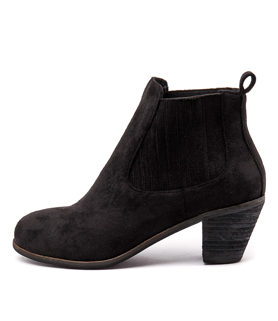 I Love Billy Riptide Black Casual Ankle Boots