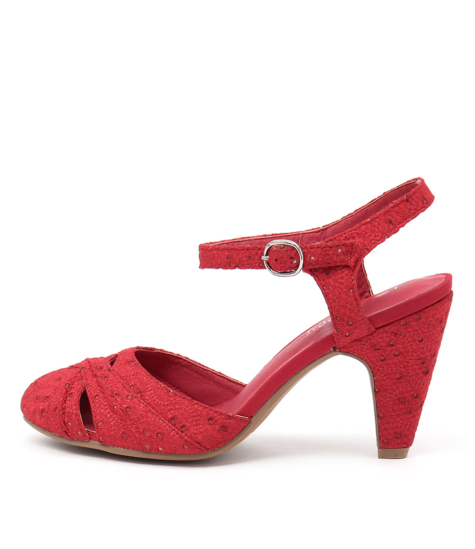 I Love Billy Affaired Red Heels