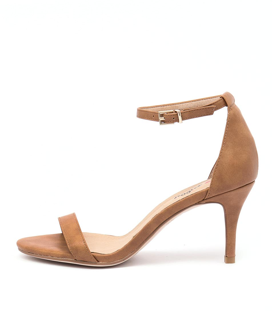 I Love Billy Connie Tan Dress Heeled Sandals