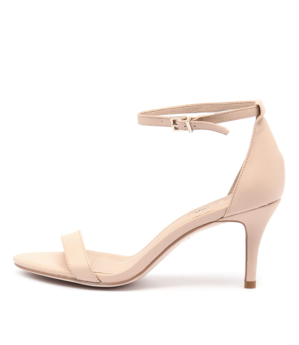 I Love Billy Connie Nude Dress Heeled Sandals
