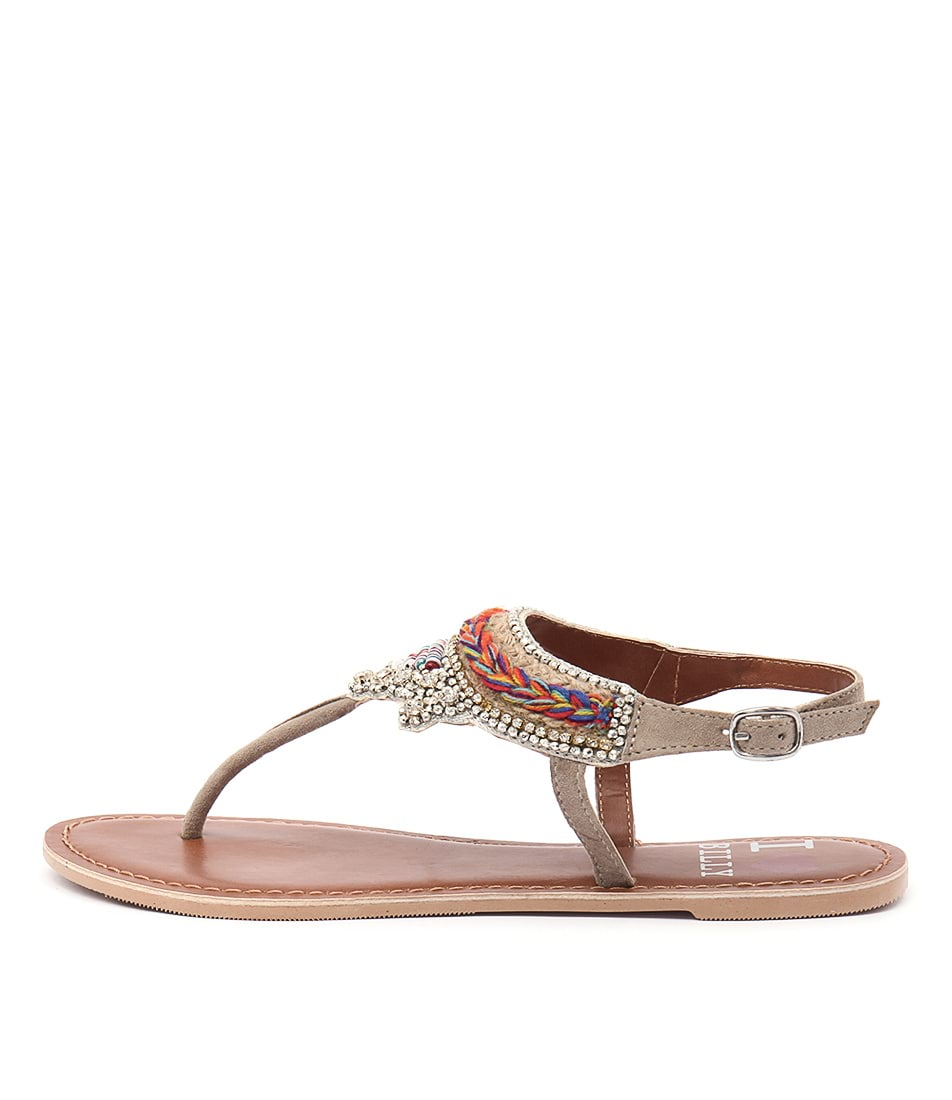 I Love Billy Fascinate Taupe Sandals