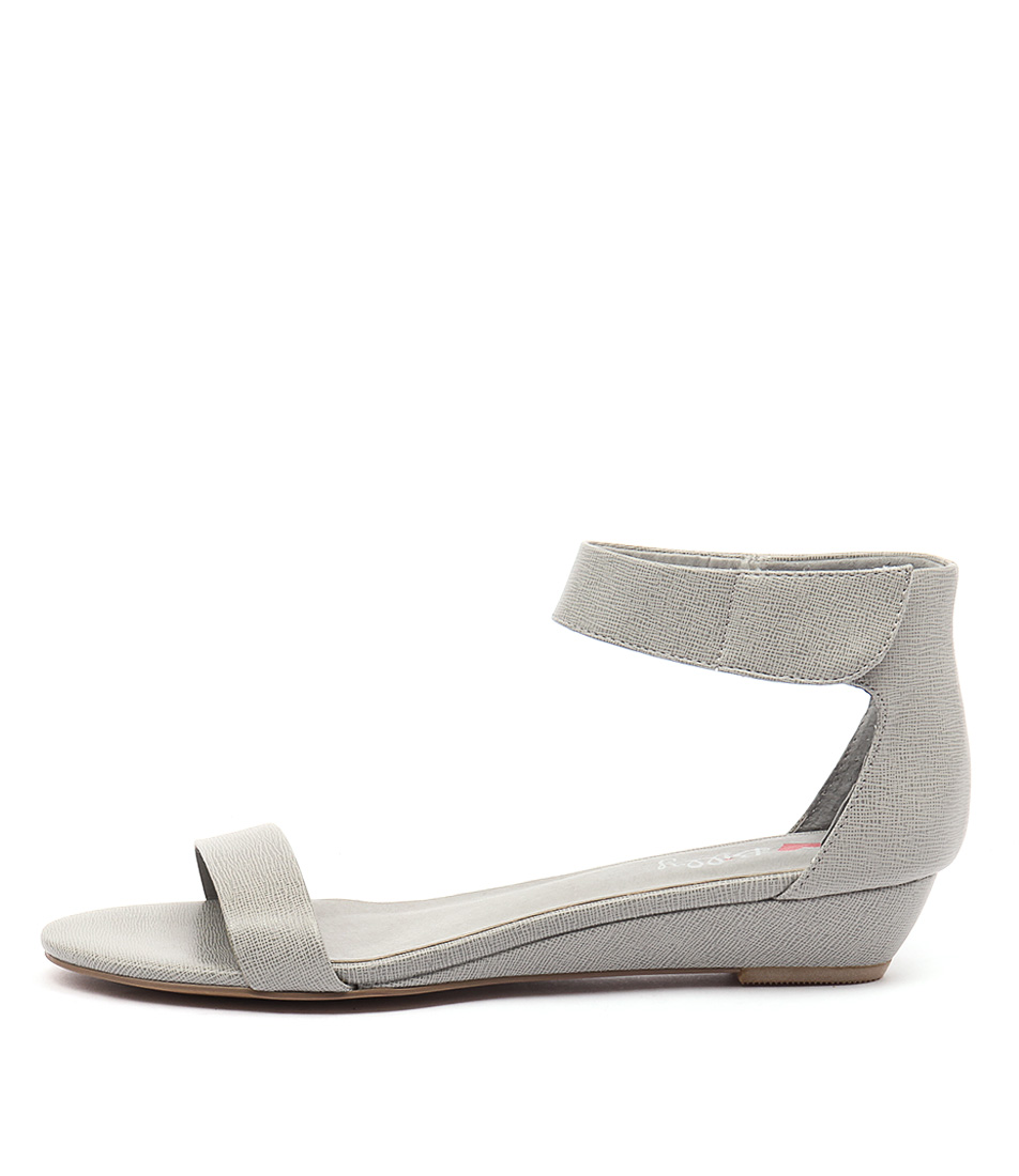 I Love Billy Marlena Grey Sandals