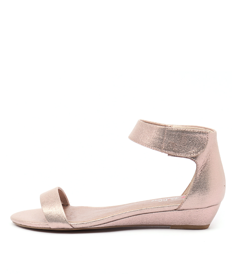 I Love Billy Marlena Rose Gold Sandals