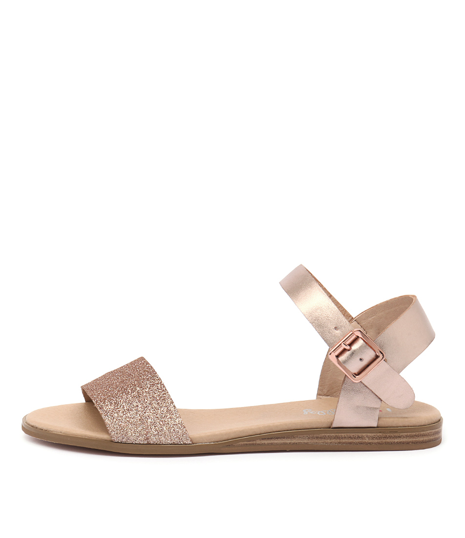 Buy I Love Billy Oneday Rose Gold Flat Sandals online with free shipping