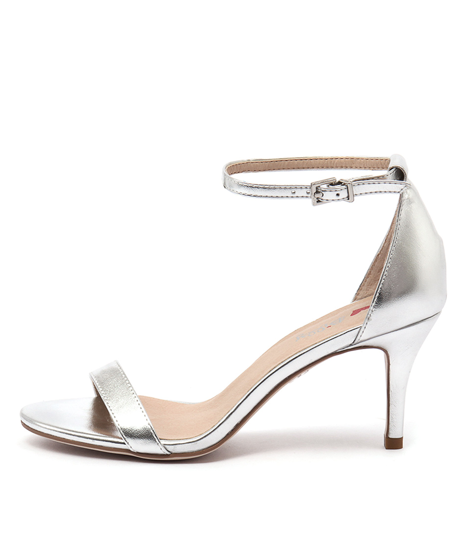 New I Love Billy Connie Silver Womens Shoes Dress Sandals ...