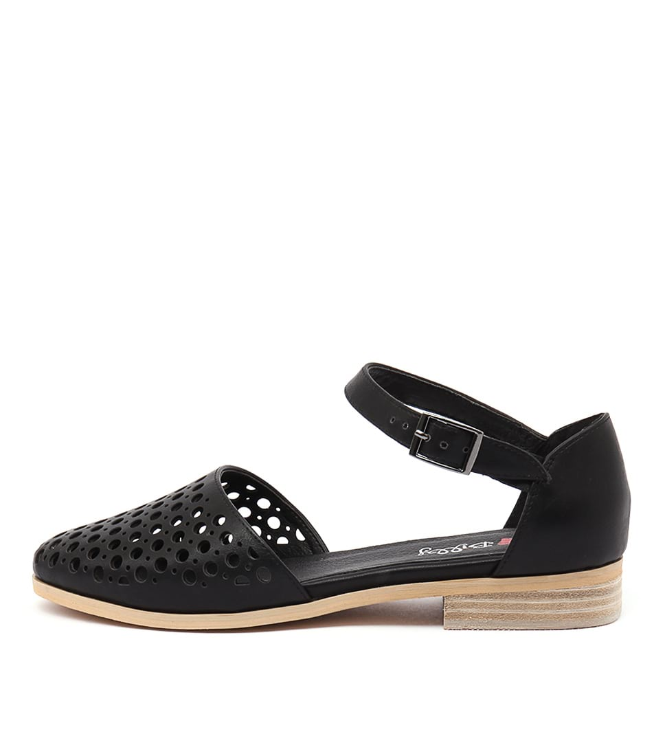 Buy I Love Billy Quotes Black Flats online with free shipping