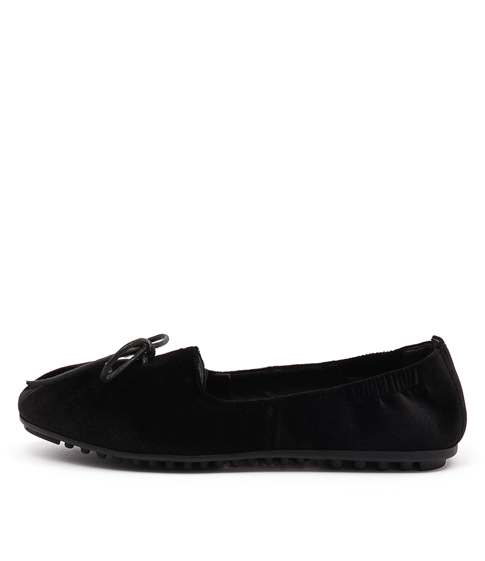 I Love Billy Baxter Black Casual Flat Shoes