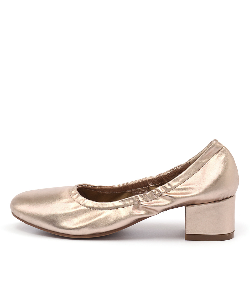 I Love Billy Champ Rose Gold High Heels