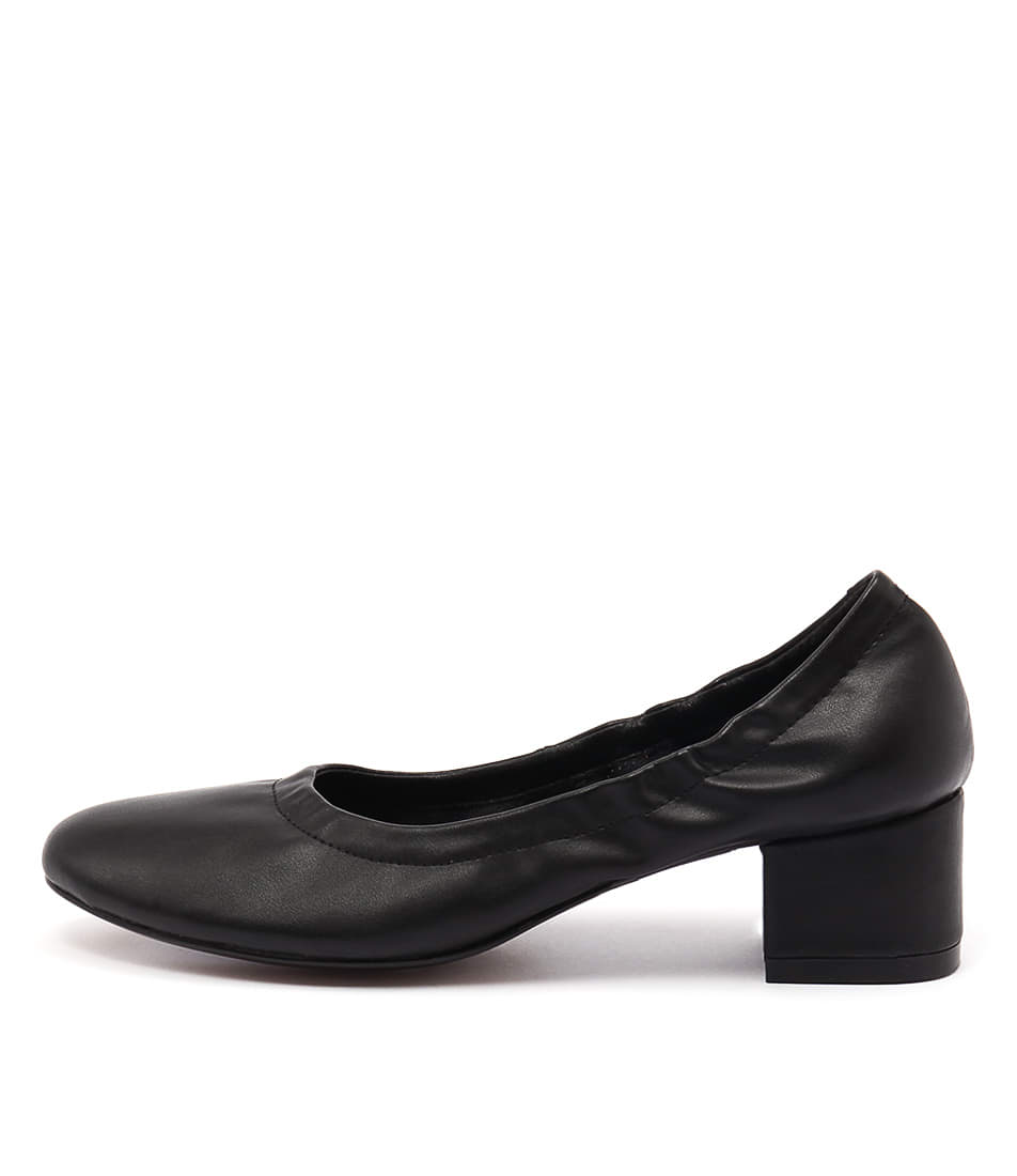 I Love Billy Champ Black Heeled Shoes