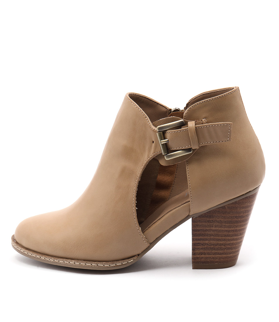 I Love Billy Christie Latte Ankle Boots
