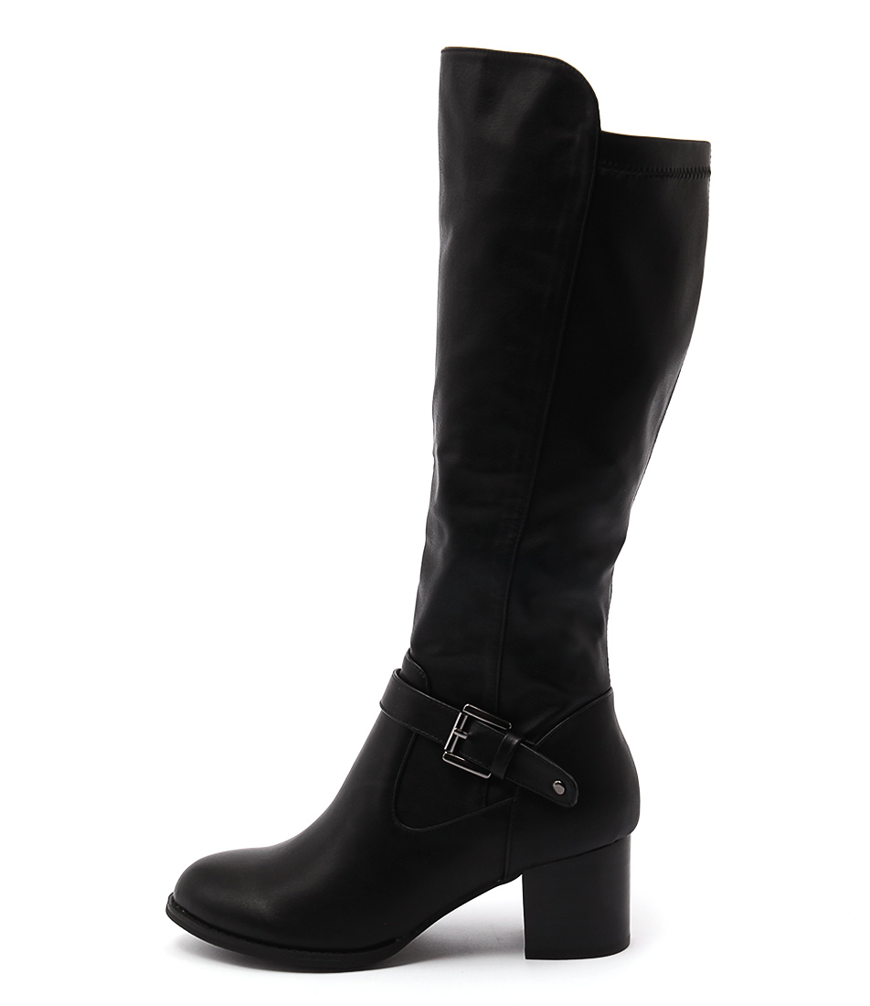 I Love Billy Jamala Black Black Casual Ankle Boots