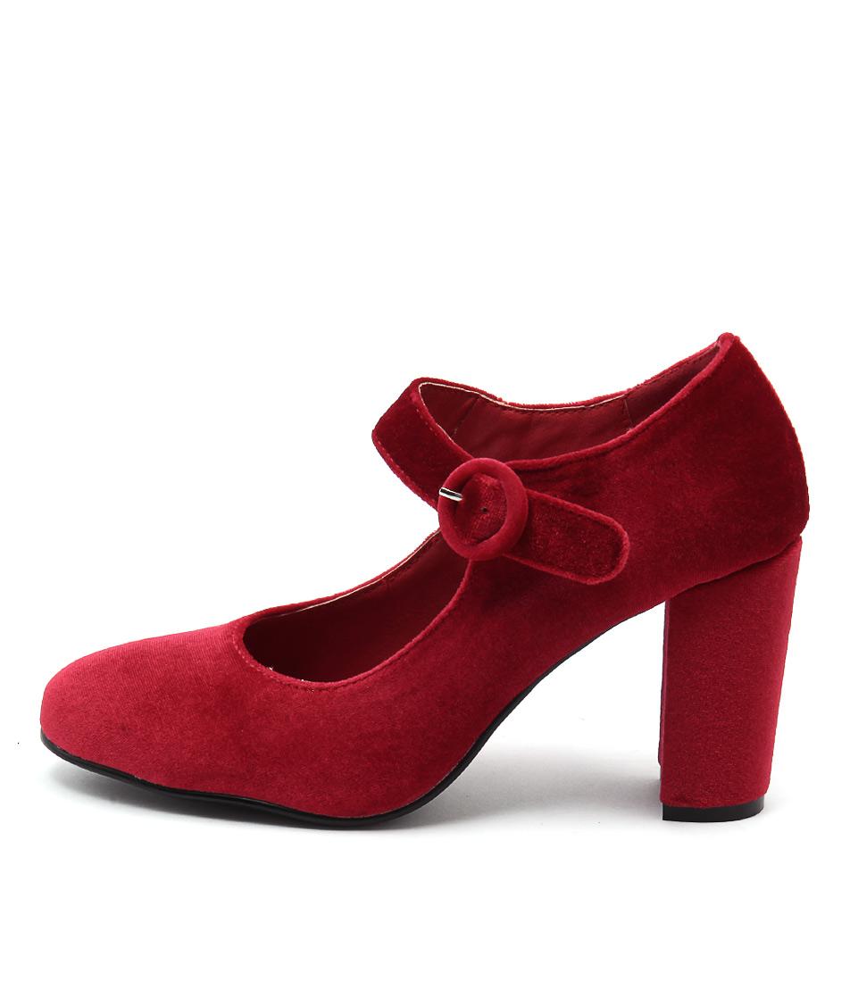 I Love Billy Miranda Red Heeled Shoes