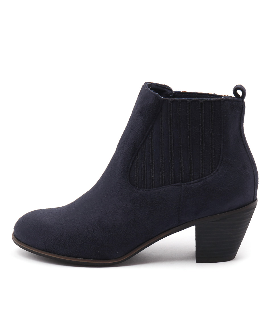 I Love Billy Nexis Navy Boots