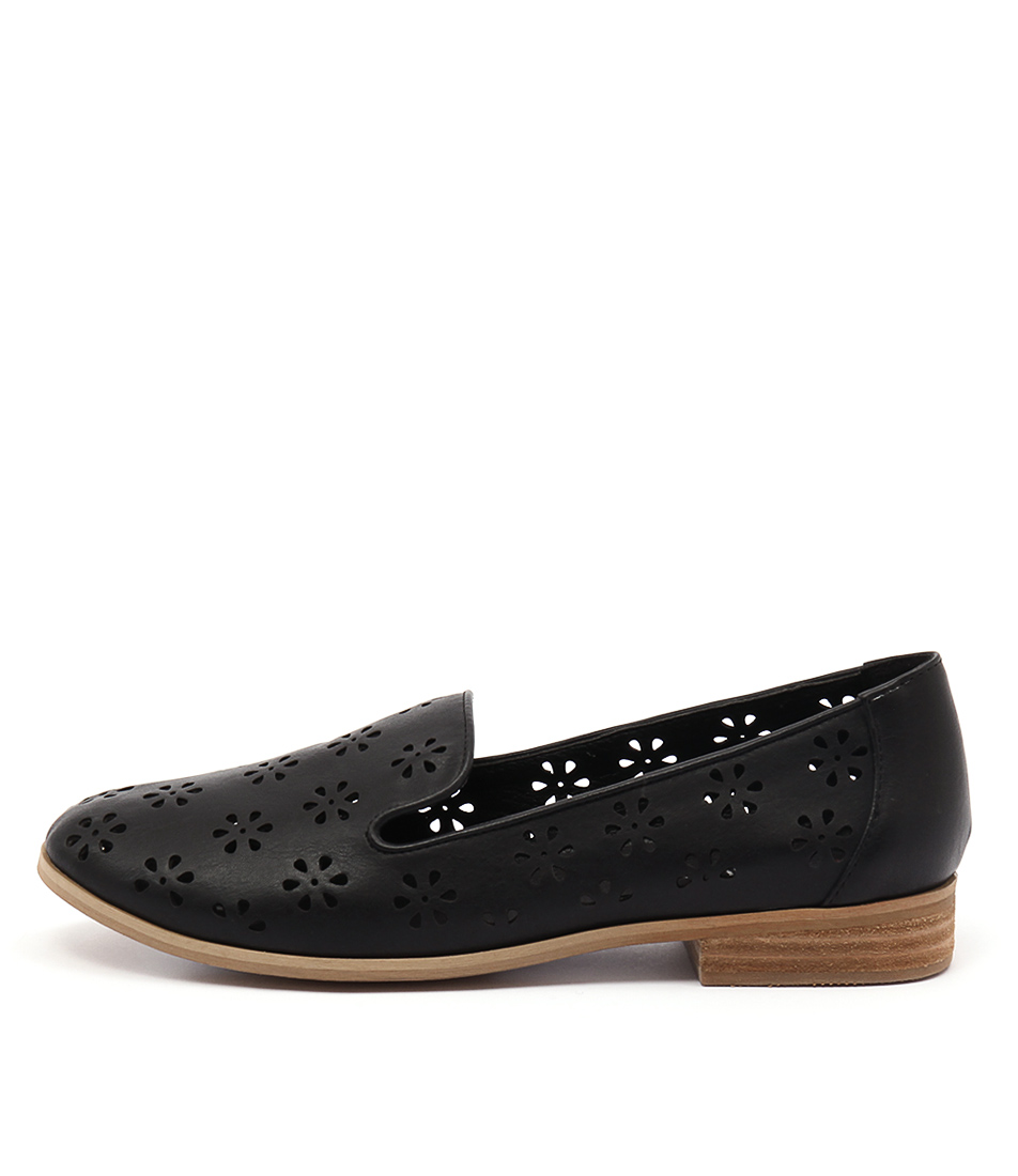 I Love Billy Quinn Black Casual Flat Shoes