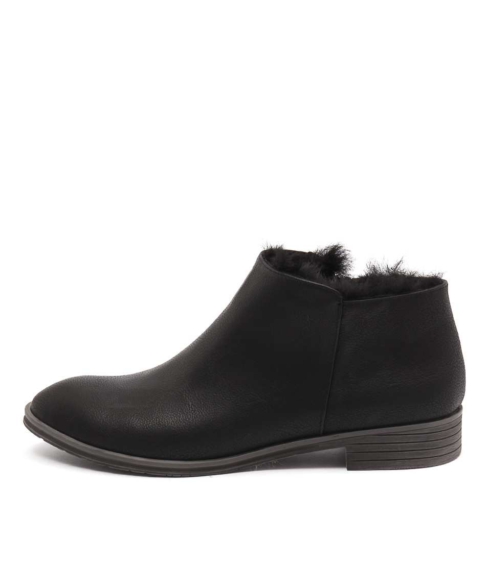 I Love Billy Turla Black Black Casual Ankle Boots