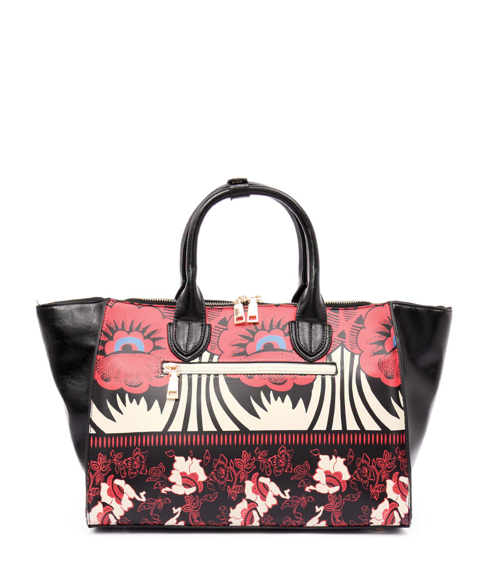 I Love Billy B402 10759 1 C Black Red Flowe Bags