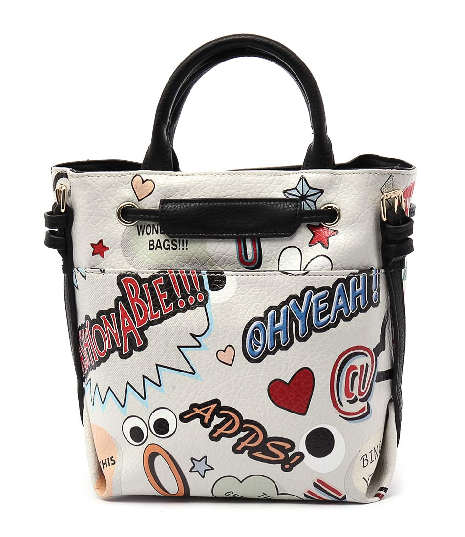 I Love Billy B446 1616 White Handbag Bags