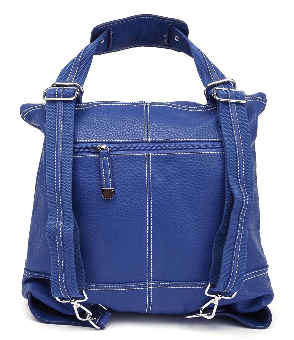 I Love Billy Border Cobalt Bags