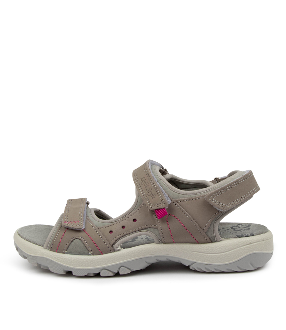 Buy Imac Spa Hessa Im Taupe Flat Sandals online with free shipping