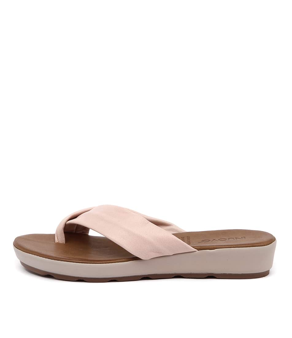 Inuovo Kelly In Blush Casual Flat Sandals