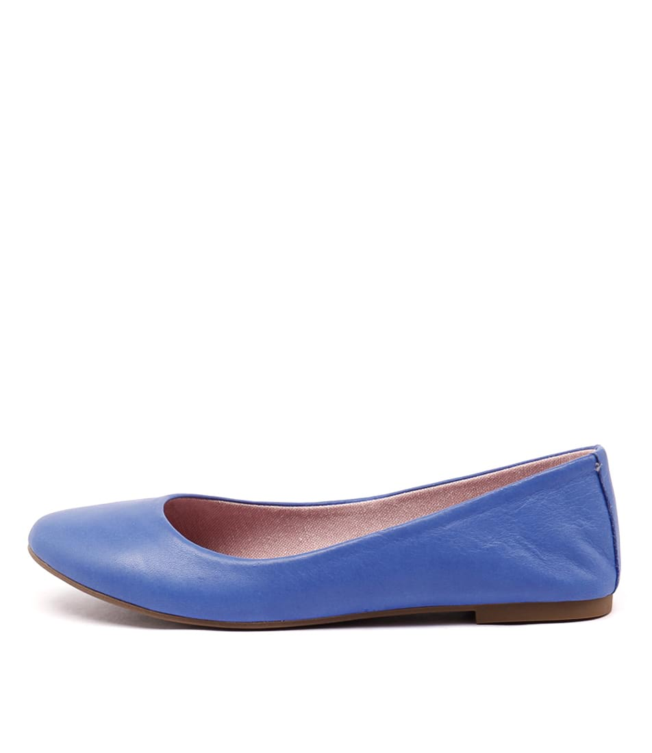 Inuovo Panorama Royal Blue Flat Shoes