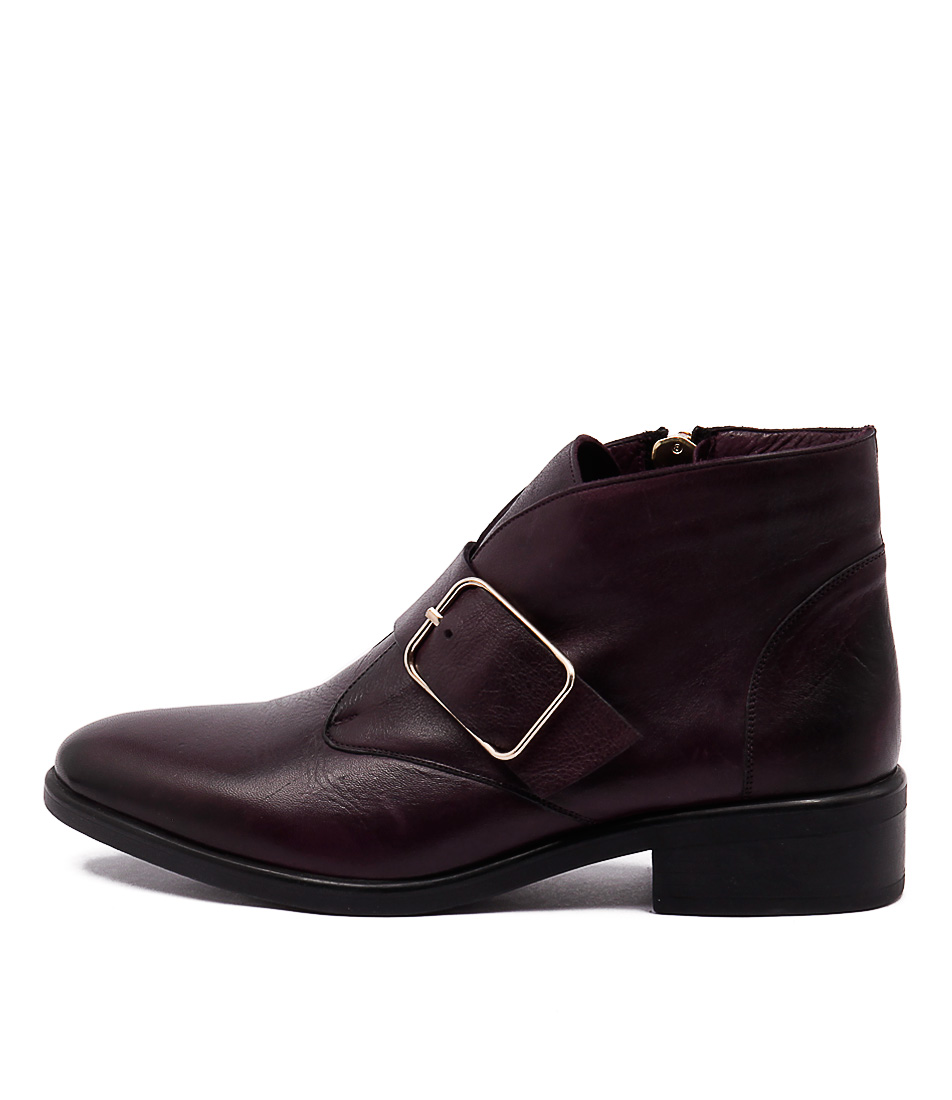 Inuovo Loureed Melenzana Casual Ankle Boots