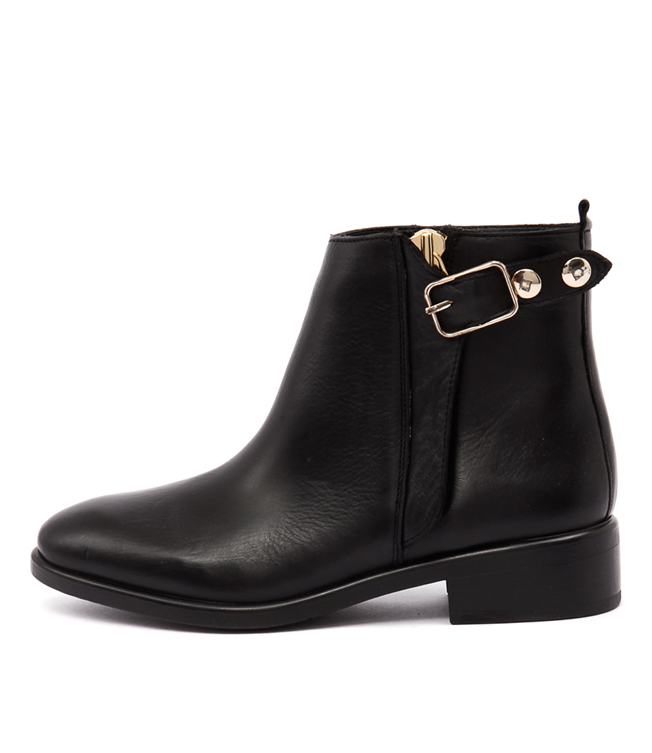 Inuovo Sista Black Ankle Boots