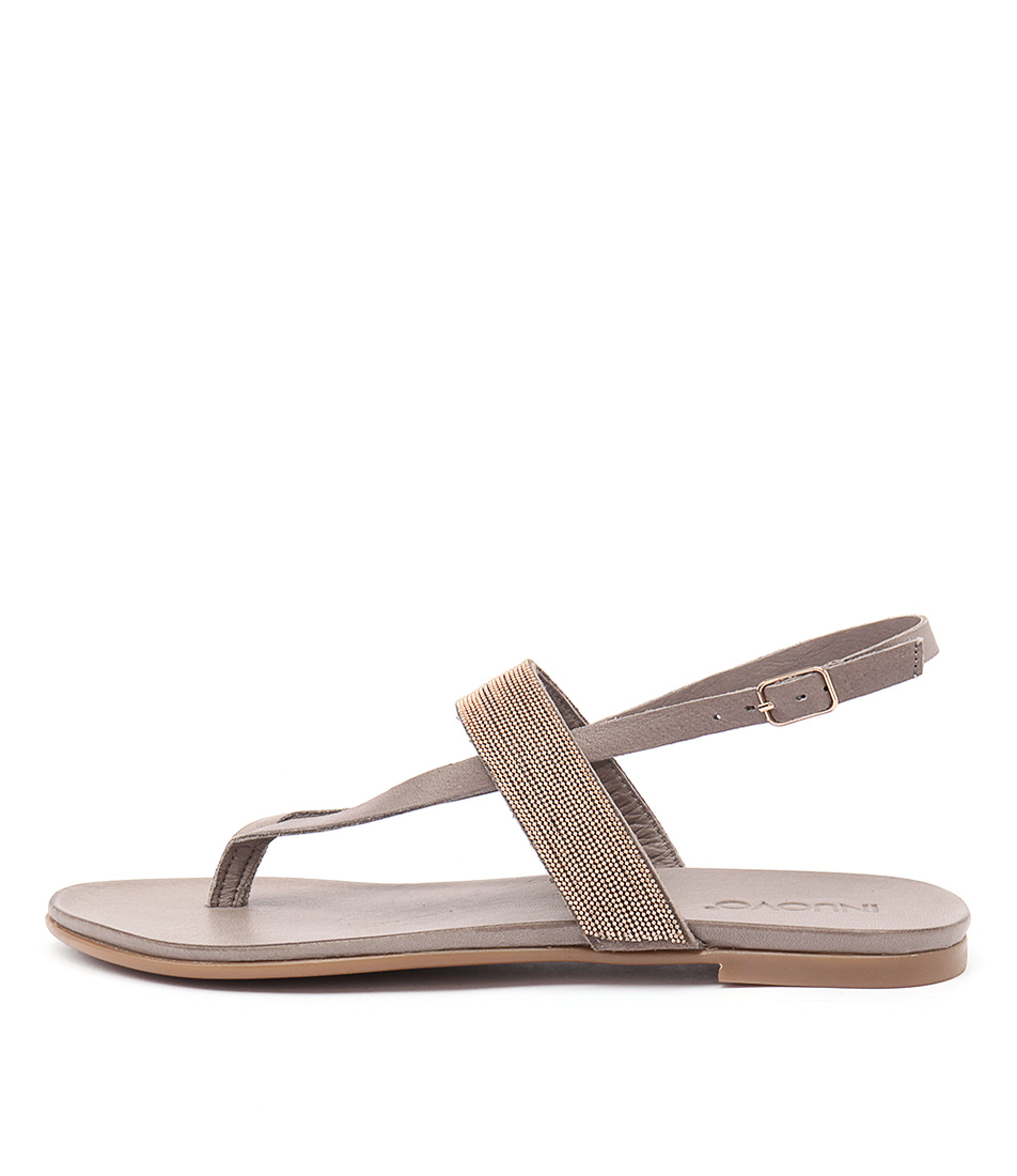 Inuovo Monjes Grey Sandals