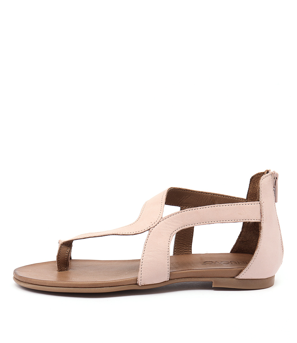 Inuovo Samos Blush Casual Flat Sandals