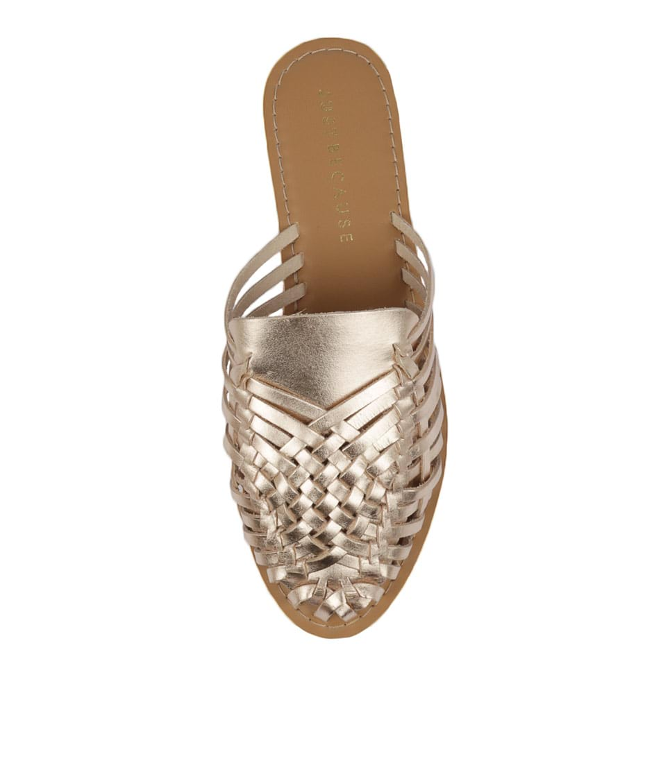 New Just Because Telgu Womens Shoes Casual Sandals Sandals Flat
